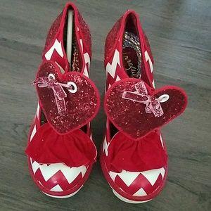 Irregular choice Red heels